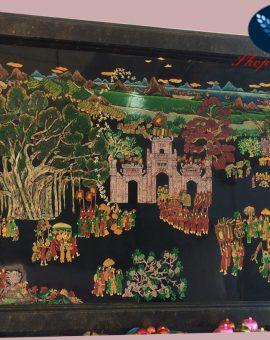 Tranh Sơn Mài tranh sơn mài Hạ Thái