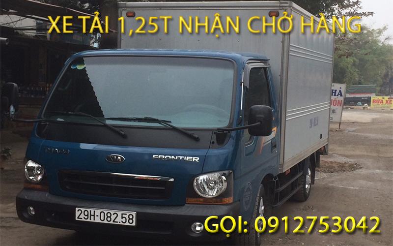 xe tải chở hàng tại xã Duyên Thái Thường Tín Hà Nội