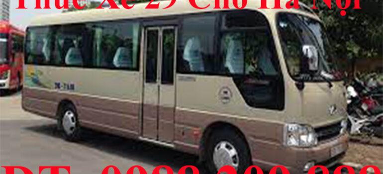 Xe 29 30 chỗ tại Thường Tín Hà Nội